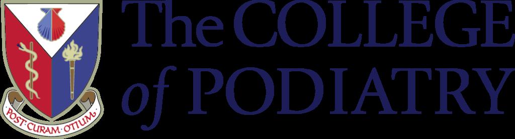 """The College of Podiatry"" logo, Kay Blowes Podiatry, Podiatry clinic, podiatrist, foot specialist, foot clinic, Westbury, Warminster, Trowbridge"