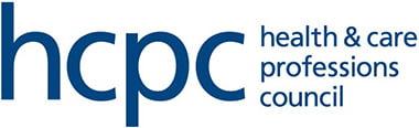 """HCPC. Health & Care Professions Council"" logo, Kay Blowes Podiatry, Podiatry clinic, podiatrist, foot specialist, foot clinic, Westbury, Warminster, Trowbridge"